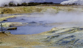 Geothermal Landscape Royalty Free Stock Photos