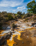 Geothermal mud pool, New Zealand Stock Images