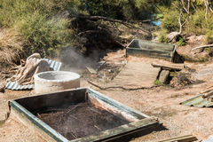 Geothermal Ovens Royalty Free Stock Photography