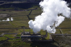 Geothermal plant Iceland Royalty Free Stock Photo
