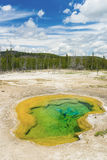 Geothermal pool Stock Photo