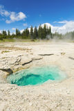 Geothermal pool Royalty Free Stock Image