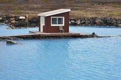 Geothermal Pool Stock Photo