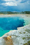 Geothermal pool, Yellowstone Stock Photos