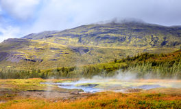 Geothermal pools Stock Photos