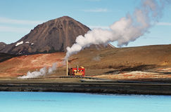 Geothermal power energy station