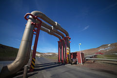 Geothermal Power Stock Photography