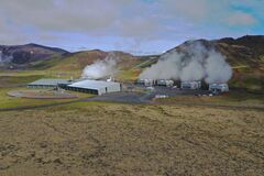 This Geothermal Power Plant is in Hellisheidi close to the outdoor area Hengill.