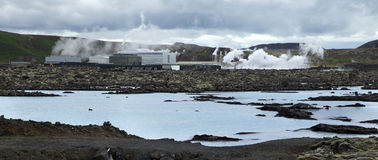 Geothermal Power Plant Royalty Free Stock Image