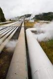 Geothermal power station alternative energy Royalty Free Stock Image