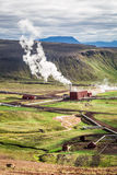 Geothermal power station, Iceland Stock Images