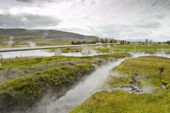 Geothermal spring Royalty Free Stock Image