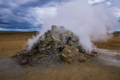 Sulphur Active Spring royalty free stock images