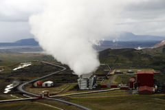 Geothermal Station Stock Images