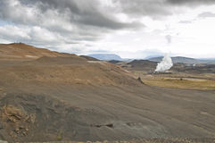 Geothermal station Stock Photos