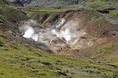 Geothermal steam no 1 Royalty Free Stock Image
