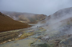 Geothermal Valley Kerlingarfjoll, Iceland Royalty Free Stock Photos