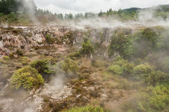 Geothermal zone in Taupo Stock Images
