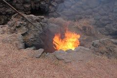 Geothermisch auf Lanzarote lizenzfreie stockbilder