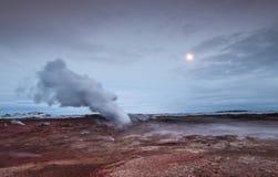 Geothermisch Gebied stock foto