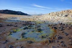 Geothermisch gebied Royalty-vrije Stock Afbeelding