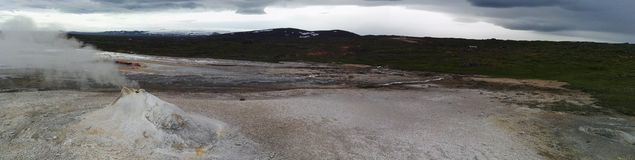Geothermisch paradijs Royalty-vrije Stock Foto's