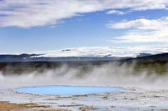 Geothermische activiteit Royalty-vrije Stock Foto's