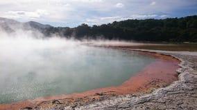 Geothermische activiteit Stock Afbeeldingen