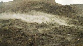 Geothermische activiteit en geisers stock videobeelden