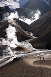 Geothermische activiteit - IJsland Royalty-vrije Stock Foto's