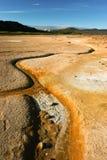 Geothermische activiteit, IJsland Royalty-vrije Stock Fotografie