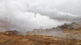 Geothermische Activiteit in IJsland stock footage