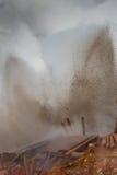 Geothermische Aktivität - Island Stockfotos