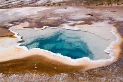 Geothermische geiser royalty-vrije stock foto