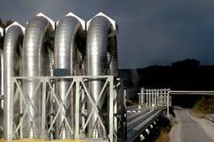Geothermische Leistung Lizenzfreie Stockfotos