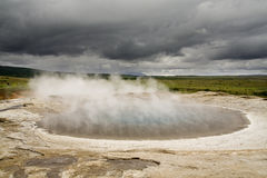 Geothermische Quelle Lizenzfreies Stockfoto