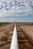 Geothermische Rohrleitung Lizenzfreie Stockfotografie