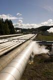 Geothermische Triebwerkanlage lizenzfreies stockfoto