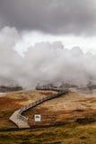 Geothermischer Bereich - Island Stockfoto