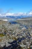 Geothermischer Bereich Jotunheimen lizenzfreies stockfoto