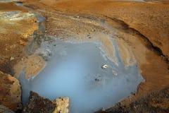 Geothermischer Bereich Krysuvik und Seltun Stockfoto