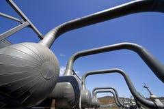Geothermisches Kraftwerk in Island Lizenzfreie Stockbilder