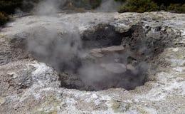 Geothermisches Märchenland WaiOTapu, Neuseeland stockfotos