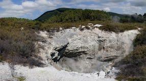 Geothermisches Märchenland WaiOTapu, Neuseeland stockfoto