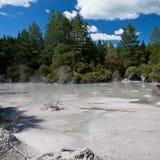 Geothermisches Schlammpool Lizenzfreies Stockbild