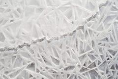 Geometrical Ice Patterns royalty free stock image