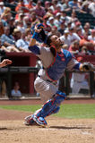 Geovany Soto, Chicago Cubs catcher. Royalty Free Stock Images