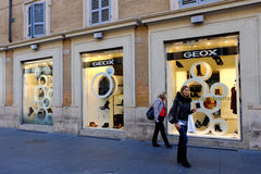 GEOX in Rome Royalty Free Stock Photo