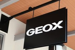 GEOX store in Genting Highlands Premium Outlet, Malaysia. GENTING HIGHLANDS, MALAYSIA- DEC 03, 2018 : GEOX store in Genting Highlands Premium Outlet, Malaysia stock images