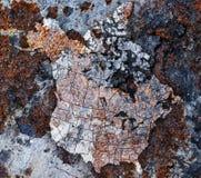 Geoxydeerd metaal stock foto's